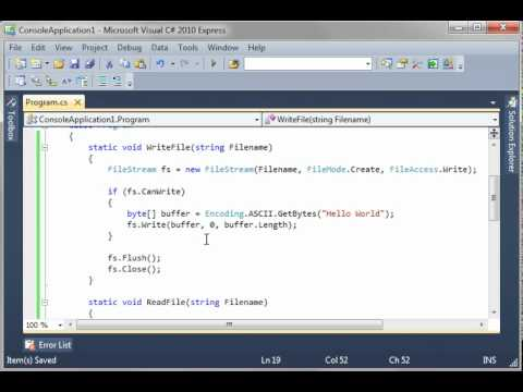 How to create excel file in c# using filestream