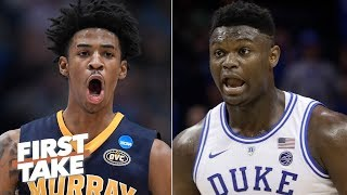 Ja Morant will be drafted right behind Zion Williamson - Max Kellerman | First Take