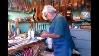Eusebio Rincón Aguilar-11 Laudero Mexicano 60 años de experiencia