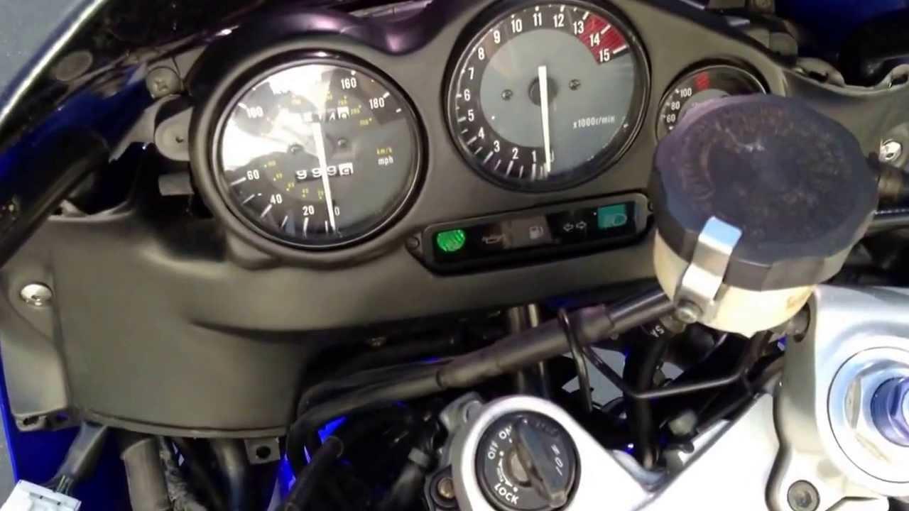 Yamaha Yzf600r Speedometer 2013