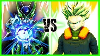 Perfect Cell Vs Time Patroller Trunks
