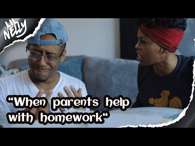 When parents help with homework