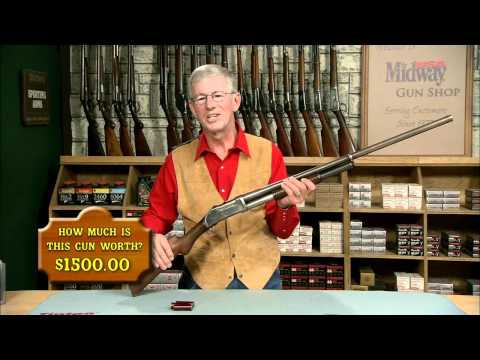 The Winchester Model 1893 Pump Action Shotgun - YouTube