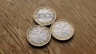 1 Euro 2002 2006 2007 Italy