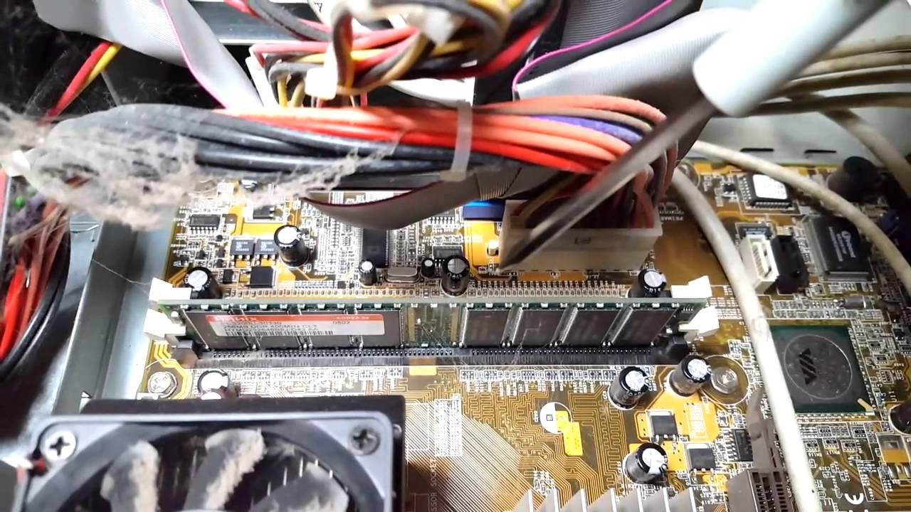compaq presario sr1303wm simple tear into!