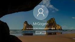 Kennwort falsch direkt nach Systemstart. Windows 10