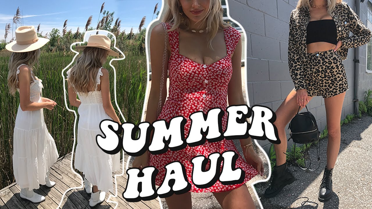 [VIDEO] – SUMMER TRY ON HAUL & OUTFIT IDEAS! 🌞✨🌸 ft. Fortunate One