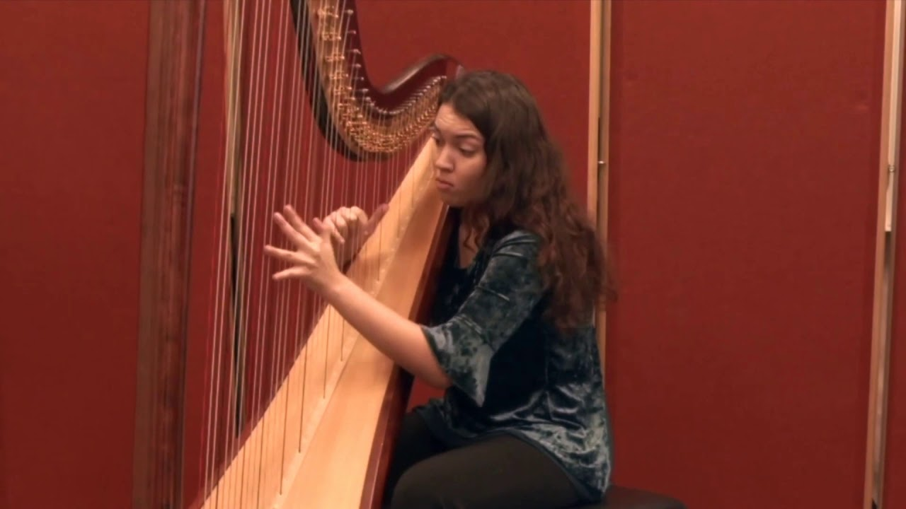 Anna The Modern Harpist Harp Player London Youtube