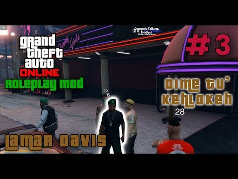 GTA V Roleplay - #3 Diketu KehLokeh? Lamar Davis - RP-Stories Server