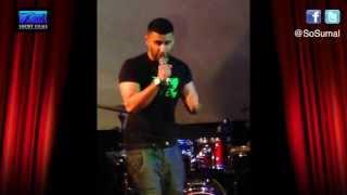 bushkin ex heartless crew with onkar sumal live desi singing comedy clips