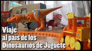Viaje al país de los Dinosaurios de juguete thumbnail