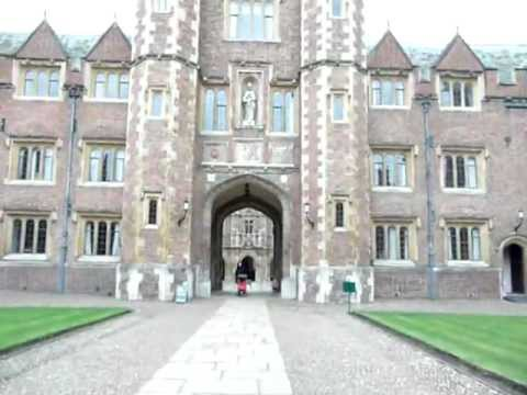A Walk Through St John's College, Cambridge