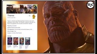 Coolest Easter Eggs Ep. 1:Avengers Endgame Google Easter Egg