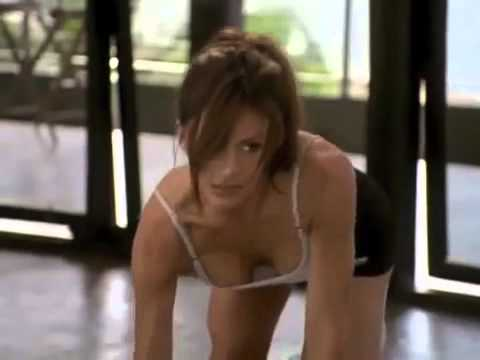 Krista Allen Baywatch Workout Call On Me Tribute
