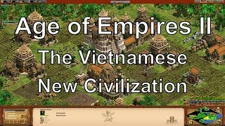 Aoe2 HD Rise of the Rajas: Vietnamese - New Civilizations