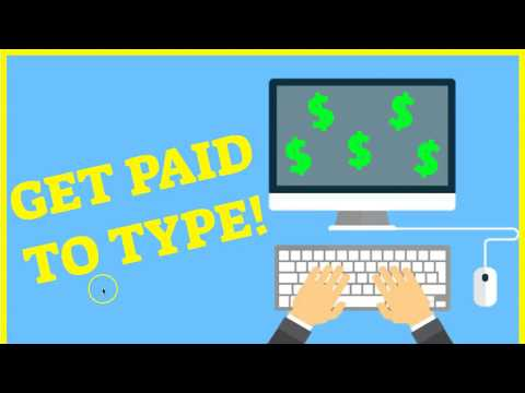 How to Make Money by Typing Online ( Fast, Easy and No Experience Required)