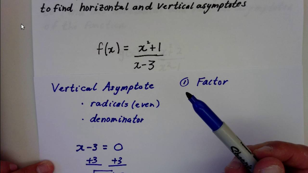 Horizontal and vertical asymptotes youtube horizontal and vertical asymptotes ccuart Gallery