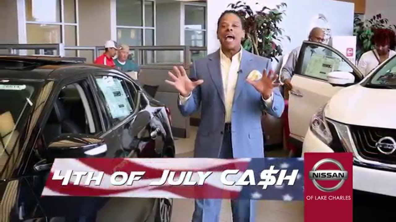 Nissan of Lake Charles - 4th of July Spots - YouTube