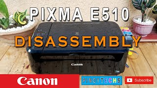Disassembly | CANON Pixma E510