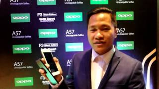 OPPO Philippines Launches F3 (Black Edition) and A57