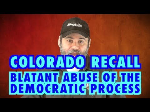 Colorado Recall: Abuse Of The Democratic Process