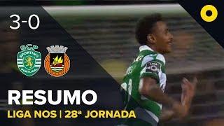 Sporting 3-0 Rio Ave - Resumo | SPORT TV