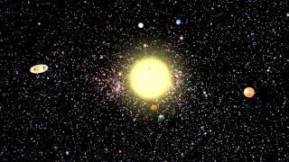 Solar System Maya Animation - Improved (1080p)
