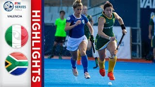 Italy v South Africa | Women's FIH Series Finals | Match 6 Highlights
