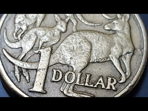 Australian Error, Flan Flaw On A 1985 $1 Coin
