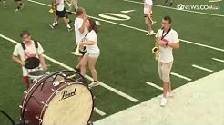 Paradise Valley High School marching band performs