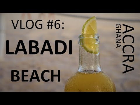 ACCRA VLOG #6: LABADI BEACH & HOTEL with my family!