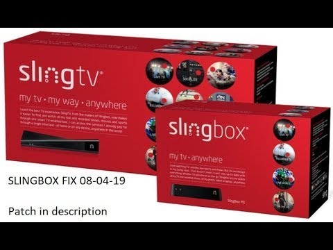 Software Bug In Slingbox System : slingbox
