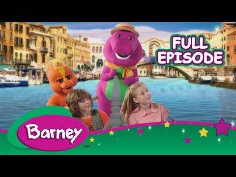 🗼🎶 Barney's Around the World Adventure - Part 3 (Full Episode)