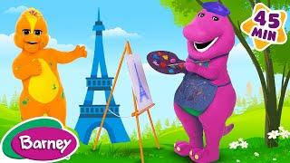 🗼🎶 Barney's Around the World Adventure - Part 3 (Full Episode)