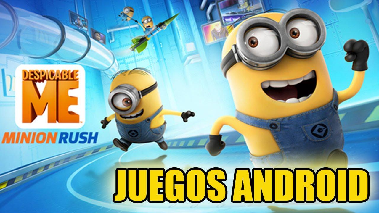 420fb6ef546 Juegos android - Despicable me: minion rush (NVIDIA shield tablet) - 1080p