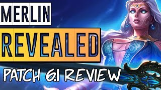 SMITE Patch 6.1: MERLIN RELEASE! ALL ABILITIES REVEALED! - Season 6 Patch Notes Review