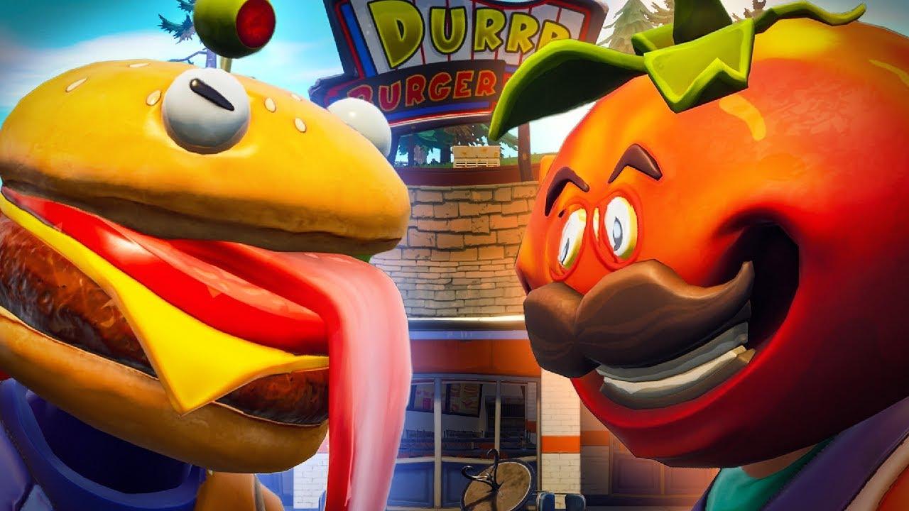 Durr Burger Vs Tomato Head Complete Series Fortnite Film