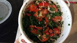 Безумно вкусные🍅маринованные помидоры быстрого приготовления.