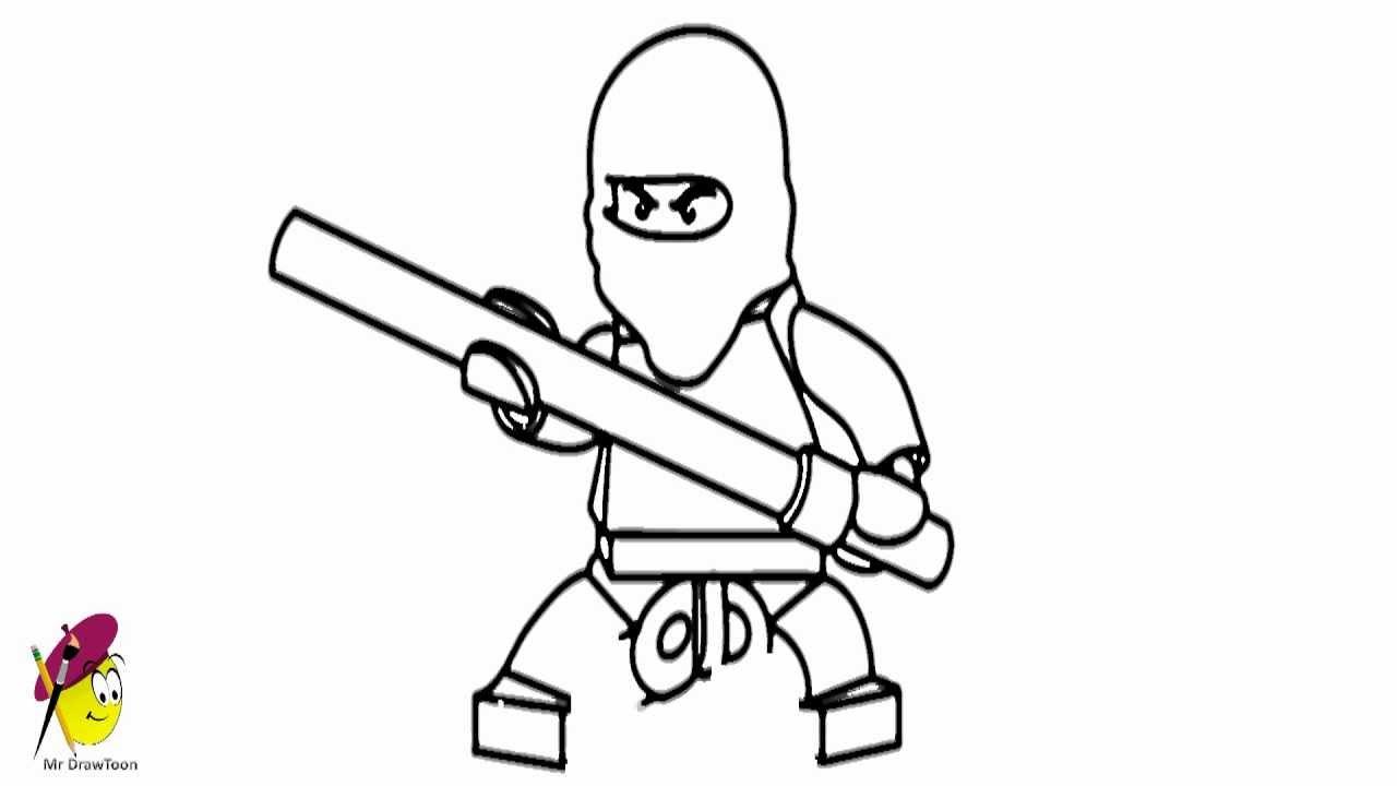 How To Draw Kai Ninjago From Lego Ninjago Youtube