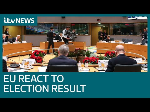 How the EU reacted to Boris Johnson's general election victory | ITV News
