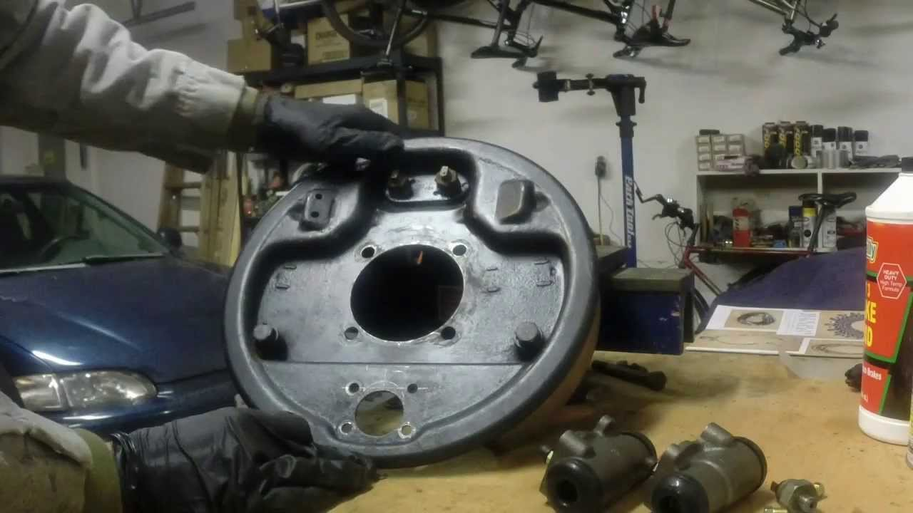 1940 Ford Juice Brakes on Model A Rear