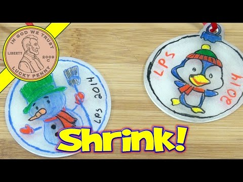 Holiday Shrink A Doodle Ornament Kit - Time To Shrink!