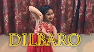 Dilbaro | Raazi | Bollywood Dance Choreography By 8 Yr Old