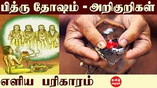 பித்ருதோஷம் அறிகுறிகள் பரிகாரங்கள் | SYMPTOMS OF PITHRU DOSHA | Pithru Dosha Remedies | Anmegam |