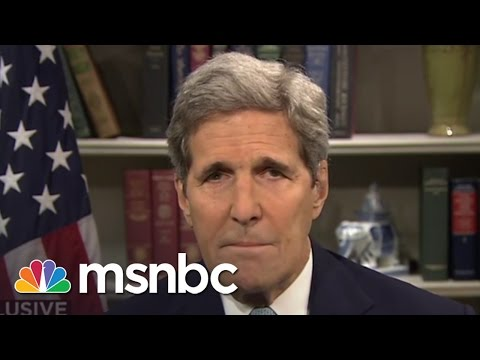 John Kerry Interview: 'We Need To Complete The Job In Iran' | Morning Joe | MSNBC