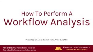 How To Perform A Workflow Analysis