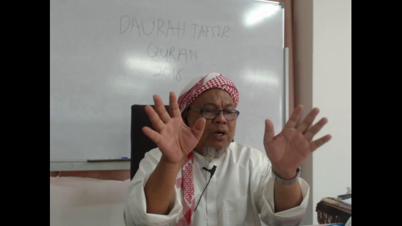 Download DAURAH TAFSIR  QURAN DI MADRASAH TAFSIR SUNNAH 2018 SESI  PAGI  ( 1-5-18)