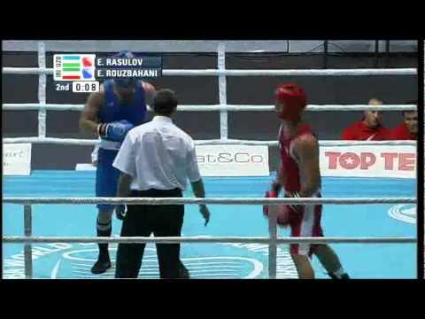 Light Heavy (81kg) QF - Rasulov Elshod (UZB) VS Rouzbahani Ehsan (IRI) - 2011 AIBA World Champs
