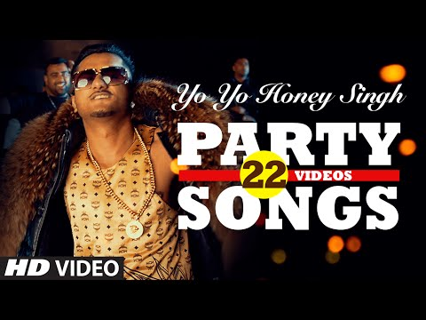Thumbnail: Yo Yo Honey Singh's BEST PARTY SONGS (22 Videos)| HINDI SONGS 2016 | BOLLYWOOD PARTY SONGS |T-SERIES