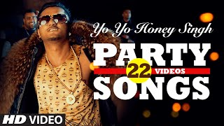 Yo Yo Honey Singh's BEST PARTY SONGS (22 Videos)| HINDI SONGS 2016 | BOLLYWOOD PARTY SONGS |T-S